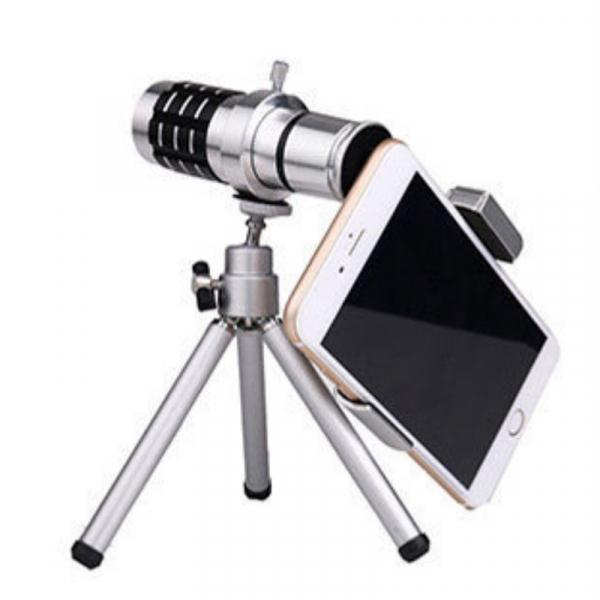 12X手機拍照通用長焦望遠鏡金屬支架 望遠鏡,手機望遠鏡,長焦望遠鏡