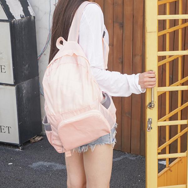 防水多功能旅行背包|可摺疊收納 兩用包,後背包,手提,折疊背包