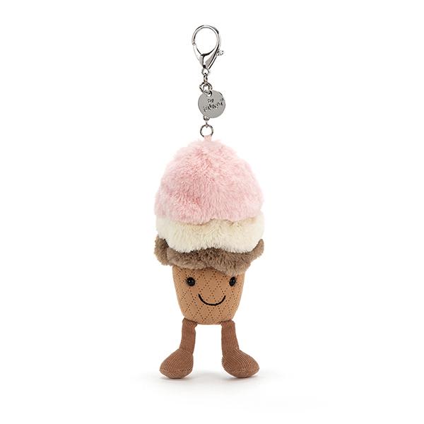 Amuseable Ice Cream 冰淇淋寶寶鑰匙圈/吊飾