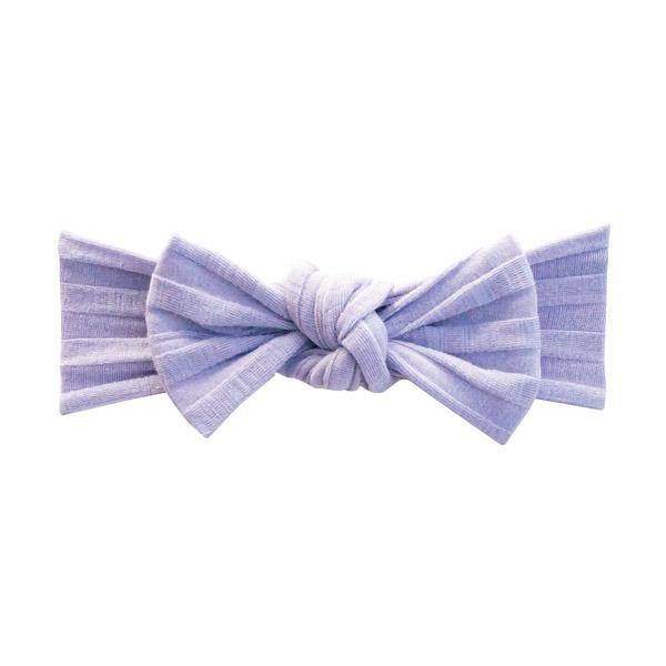 NIVA嬰幼兒寬版織紋髮帶(甜美紫)