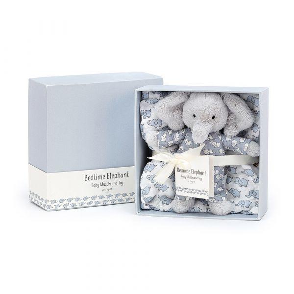 Bedtime Elephant 睡衣大象彌月禮盒