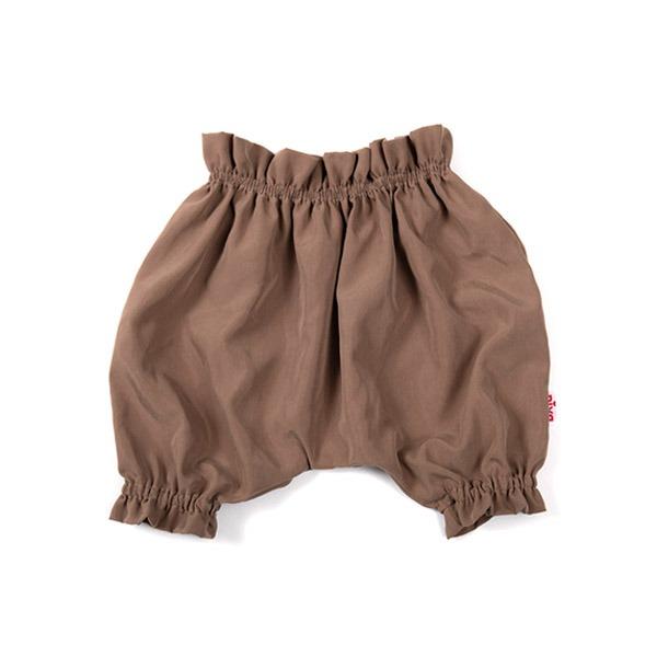 嬰幼兒造型縮口褲(大地棕)