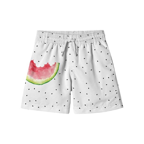 消暑西瓜海灘褲 美國Stella Cove,海灘褲,男童海灘褲