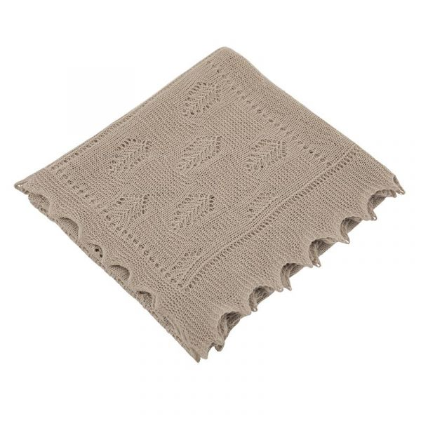 輕暖柔紗格紋包巾(暖褐灰)