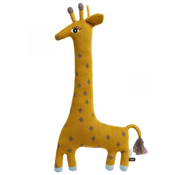 造型抱枕-諾亞長頸鹿 OYOY,丹麥家居,長頸鹿,造型抱枕,針織抱枕,家飾品