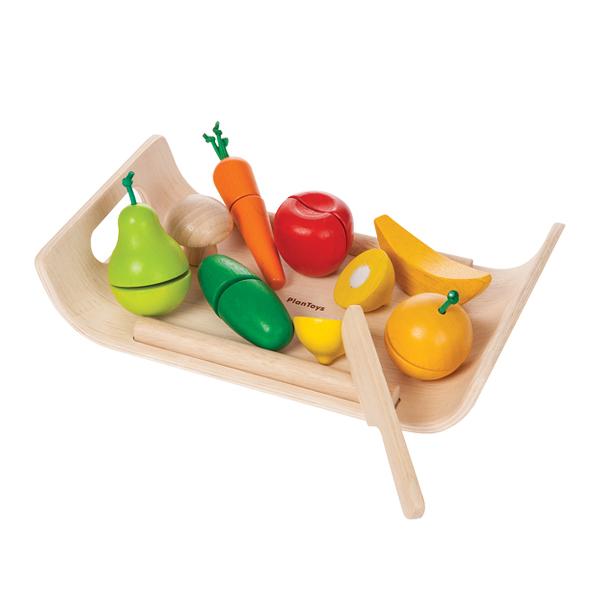 小主廚-切切蔬果托盤