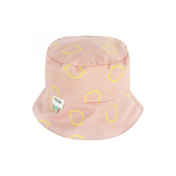 有機棉遮陽帽-甜心檸檬 比利時trixie,有機棉遮陽帽,嬰幼兒帽子,吸濕透氣,頭圍48至52cm