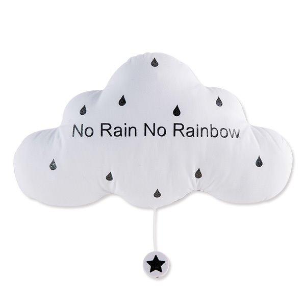 法式雲朵音樂夜燈(雨後彩虹-漾白)