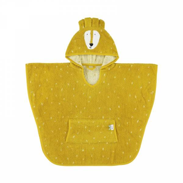 動物造型有機棉連帽斗篷-陽光獅子 比利時trixie,有機棉斗篷,動物造型斗篷,嬰幼兒連帽斗篷,吸水力極佳