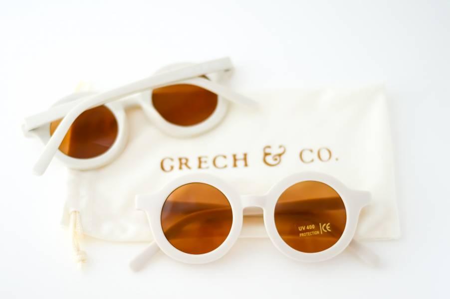 兒童太陽眼鏡(奶茶色) 丹麥,太陽眼鏡,墨鏡,抗UV400,適合18個月到6歲,兒童時尚,環保再生塑料