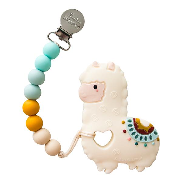 加拿大寶貝固齒器-民族風草泥馬