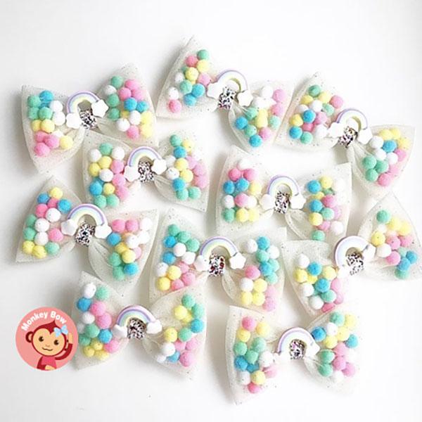 Monkey Bow-Pominnie Bow(寶貝彩虹)