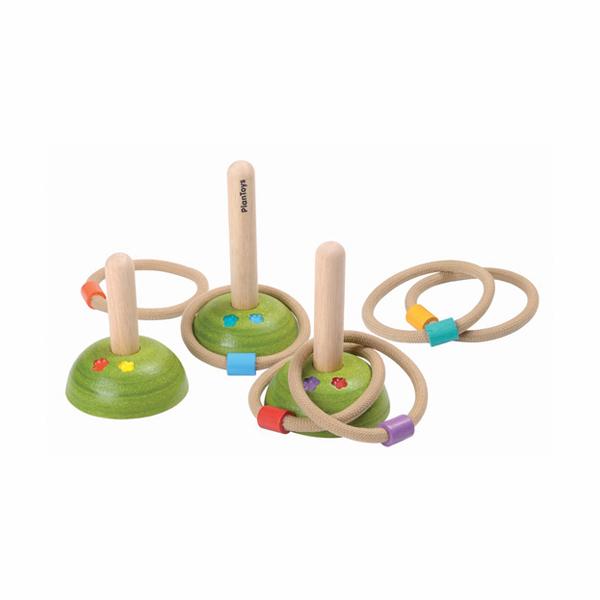 經典木作童玩-套圈圈 泰國,天然橡膠木,童玩,套圈圈