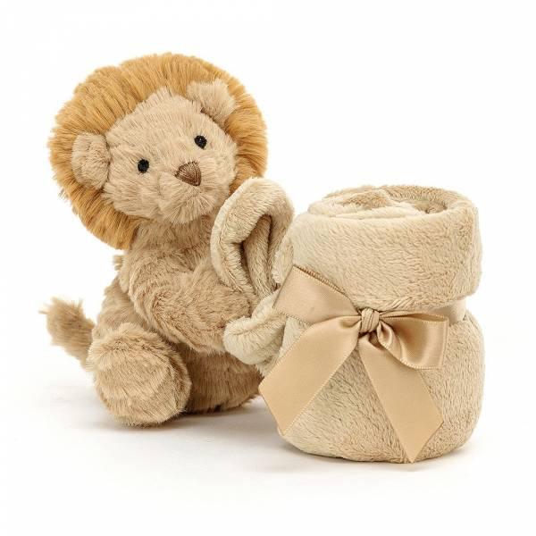 Fuddlewuddle Lion Soother 毛茸茸獅子安撫巾 jellycat,寶寶的第一個禮物,寶寶的第一條安撫巾,送禮推薦,媽媽必敗,安撫神器,五感刺激