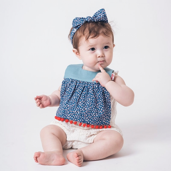可愛造型圍兜/口水巾(印花小絨球) 圍兜,口水巾,純棉,日本製,造型,送禮自用