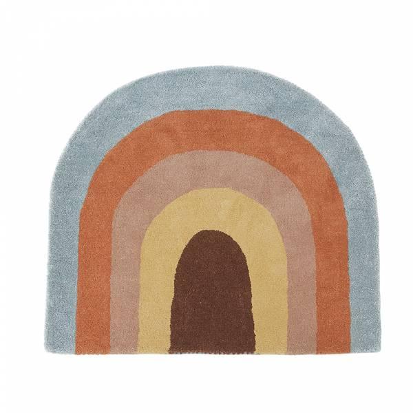 造型手工羊毛地毯-夢想彩虹 OYOY,丹麥家居,羊毛地毯,夢想彩虹,兒童房佈置,家飾品