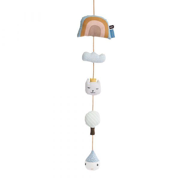 MINI安撫吊飾-彩虹樂園 OYOY,丹麥家居,安撫吊飾,嬰兒床吊飾,兒童房佈置,家飾品