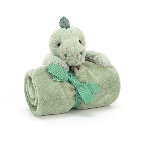 Shooshu Dino Soother 恐龍安撫巾 jellycat,舒適柔軟系列,寶寶的第一個禮物,寶寶的第一條安撫巾,送禮推薦,媽媽必敗,安撫神器,五感刺激