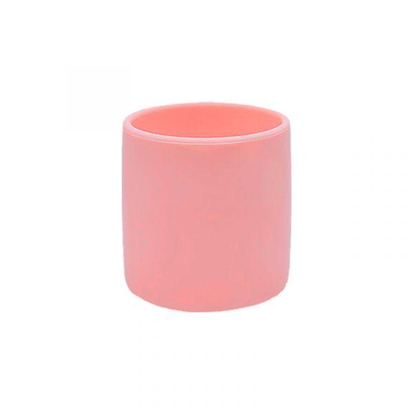 寶寶自主學習杯-薔薇粉 土耳其minikoioi,矽膠學習杯,耐熱達200度C,食品級矽膠,嬰幼兒餐具