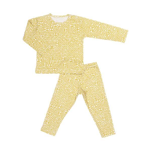 有機棉長袖家居服-金黃起司 比利時trixie,有機棉,家居服,吸汗透氣,歐洲製造