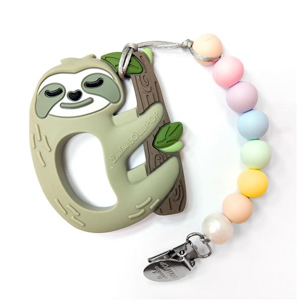 加拿大寶貝固齒器-棉花糖慢吞吞樹懶