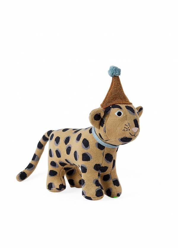 寶貝造型抱枕-頑皮豹 OYOY,丹麥家居,頑皮豹,造型抱枕,針織抱枕,家飾品