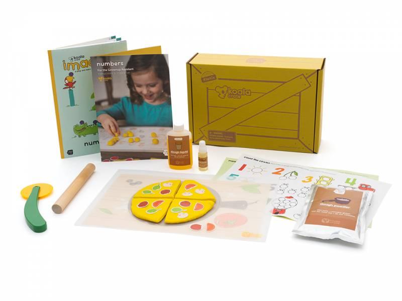 Koala Crate 無尾熊箱-DIY黏土披薩 美國KiwiCo,STEAM,適合年齡3-5歲,幼兒手作