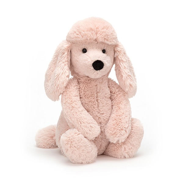 Bashful Poodle 粉貴賓狗(18cm)