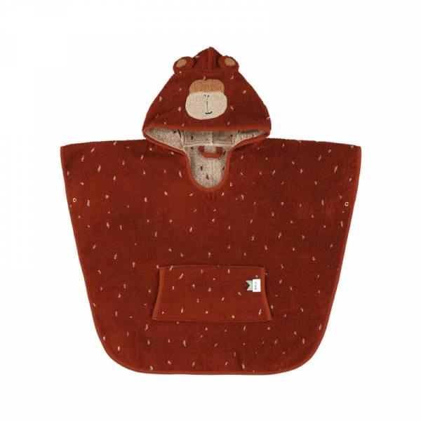 動物造型有機棉連帽斗篷-歡喜小猴 比利時trixie,有機棉斗篷,動物造型斗篷,嬰幼兒連帽斗篷,吸水力極佳