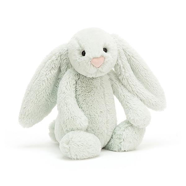 Bashful Seaspray Bunny 薄荷綠兔(31cm) jellycat,Bashful Bunny,兔子,英國絨毛玩偶,送禮推薦,媽媽必敗,好萊塢明星,寶寶第一個好朋友