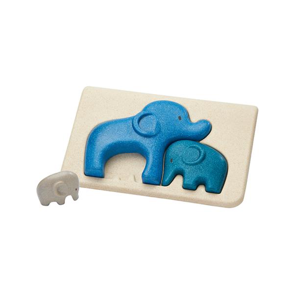 Planwoods立體拼圖-抱抱大象 泰國,天然橡膠木,拼圖,立體,手眼協調