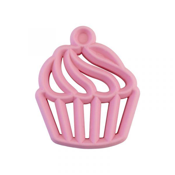 造型矽膠固齒器-杯子蛋糕 美國Itzy Ritzy,固齒器,矽膠固齒器,可使用消毒鍋,減緩長牙不適感