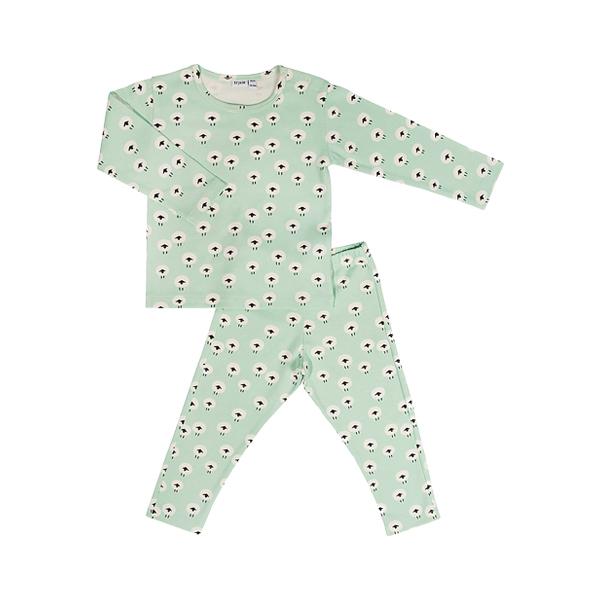 有機棉長袖家居服-可愛綿羊 比利時trixie,有機棉,家居服,吸汗透氣,歐洲製造