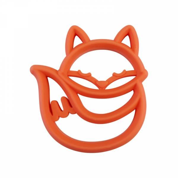 造型矽膠固齒器-聰明狐狸 美國Itzy Ritzy,固齒器,矽膠固齒器,可使用消毒鍋,減緩長牙不適感