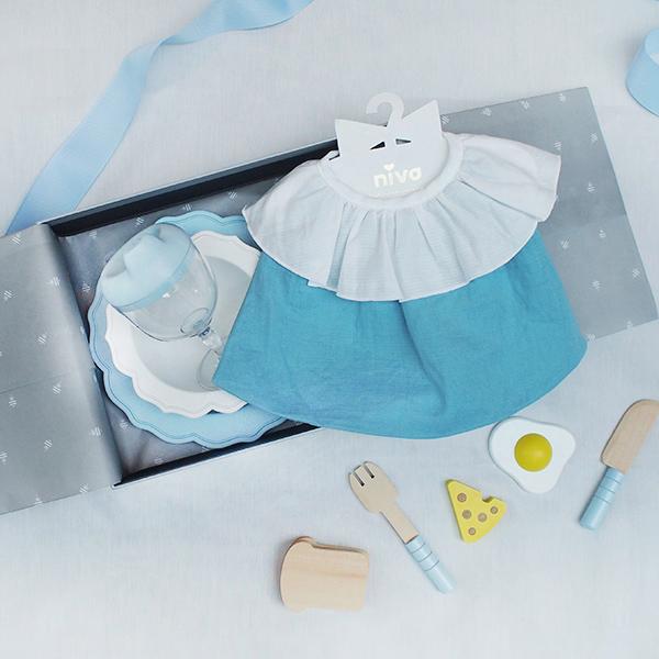 知性王室用餐禮盒(藍)