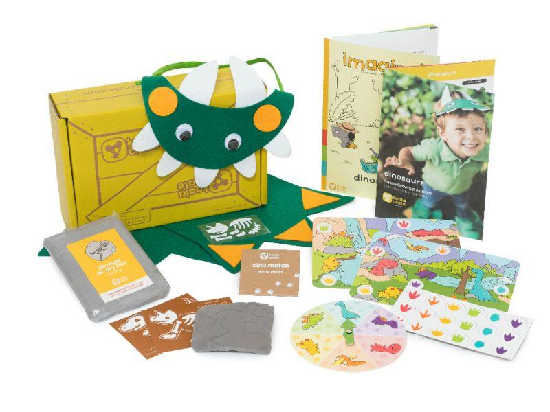 Koala Crate 無尾熊箱-恐龍世界 美國KiwiCo,STEAM,適合年齡3-5歲,幼兒手作