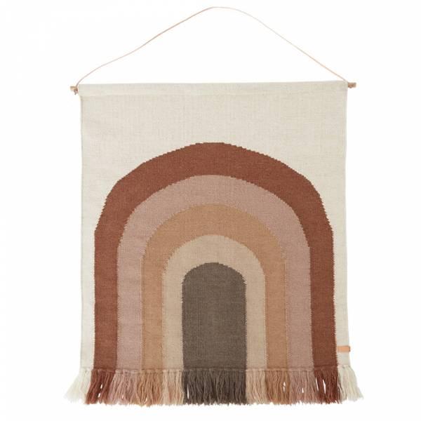 造型手工羊毛掛毯-巧克彩虹 OYOY,丹麥家居,羊毛掛毯,巧克彩虹,兒童房佈置,家飾品