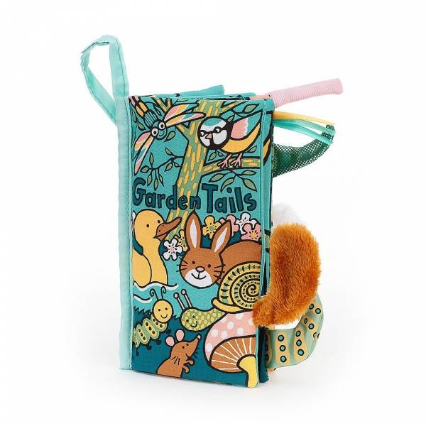 Garden Tails 花園動物尾巴布書 jellycat,英國,尾巴布書,送禮推薦,媽媽必敗,好萊塢明星