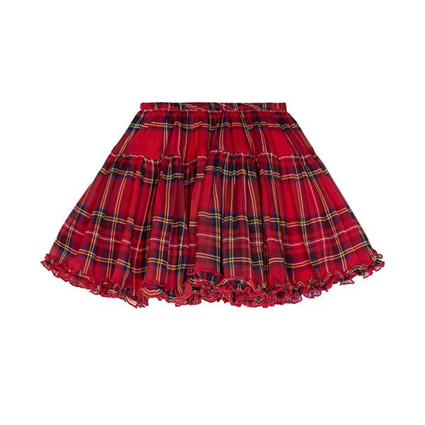經典蘇格蘭格紋短裙