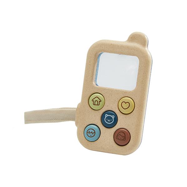 我的手機(英倫藍) 泰國,天然橡膠木,手機,玩具