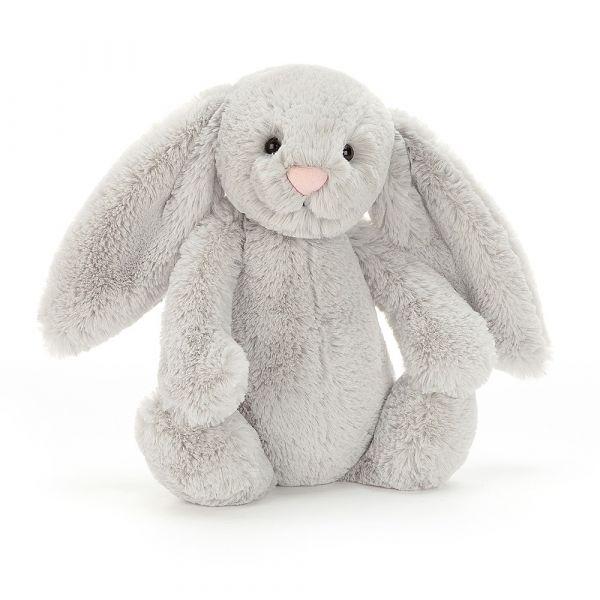 Bashful Bunny 兔-客製化刺繡(多色可選) jellycat,Bashful Bunny,兔子,英國絨毛玩偶,送禮推薦,媽媽必敗,好萊塢明星,寶寶第一個好朋友,客製化刺繡