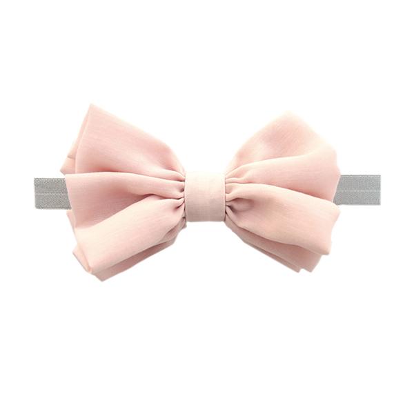NIVA嬰幼兒超可愛髮帶(甜心粉) 嬰幼兒髮帶,日本製,造型,立體蝴蝶結