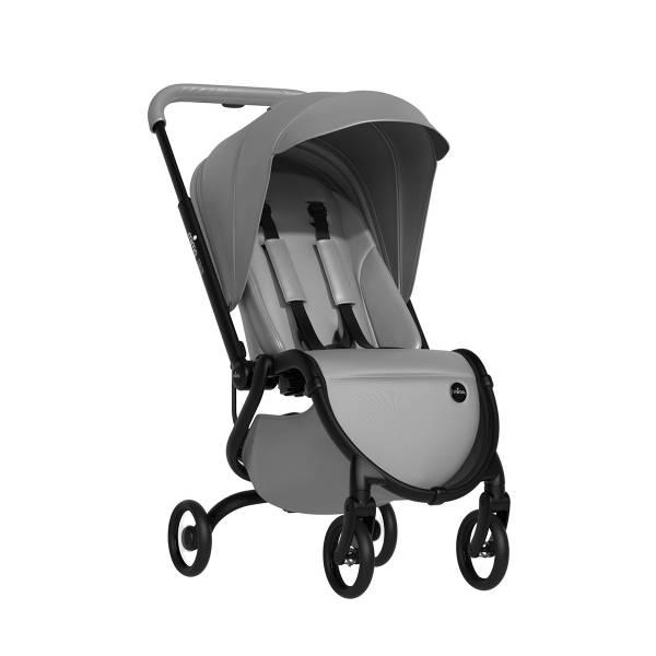 zigi 都會嬰兒推車-皓月銀 西班牙mima,zigi嬰兒推車,秒收推車,可折疊登機,超大防曬遮篷