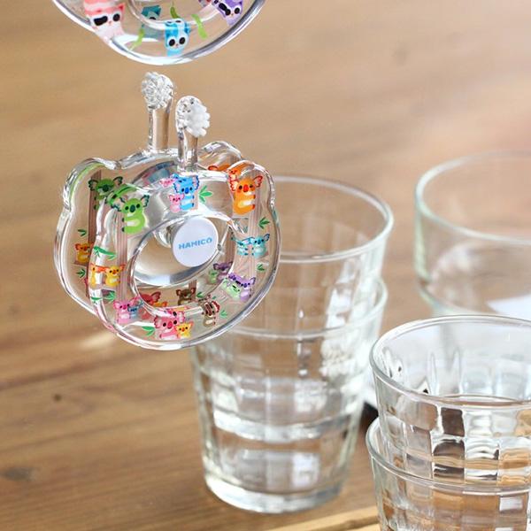 HAMICO寶寶牙刷吸盤 HAMICO牙刷專用,日本製,防潮濕發霉