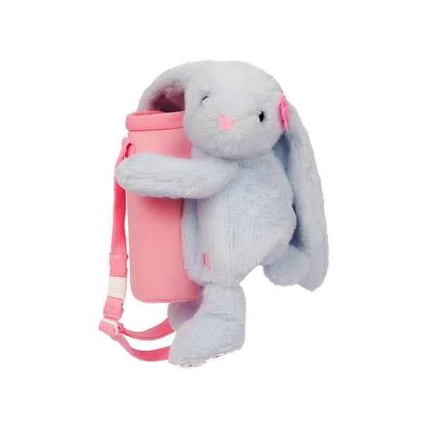 FUNDAY 抱抱小兔子水壺袋(藍)