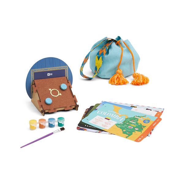 Atlas Crate 地圖集箱-探索哥倫比亞 美國KiwiCo,STEAM,適合年齡6-11歲,兒童手作