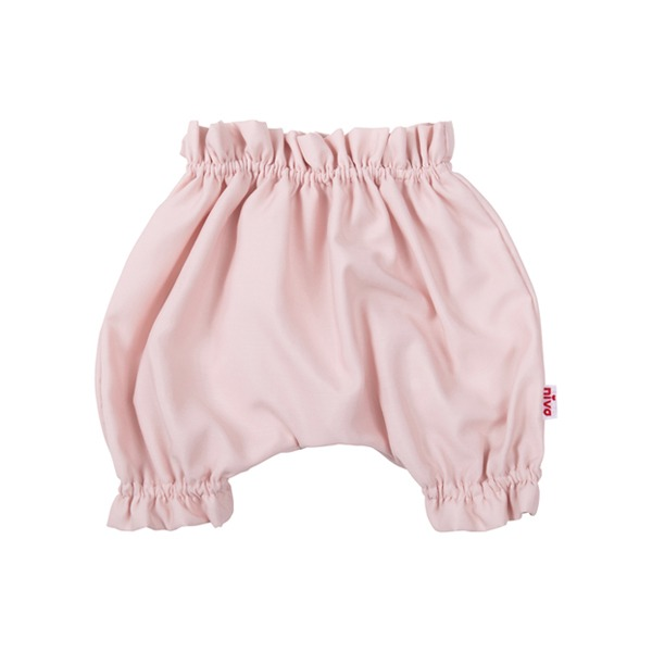 嬰幼兒造型縮口褲(甜心粉)