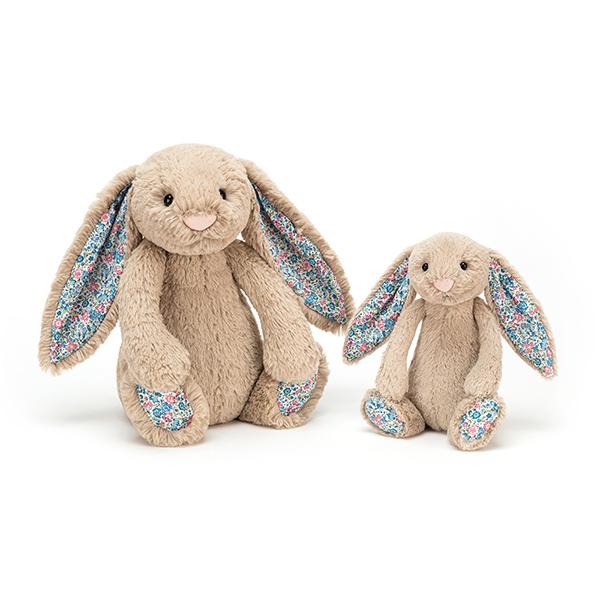 Blossom Beige Bunny 碎花兔(灰 31cm)