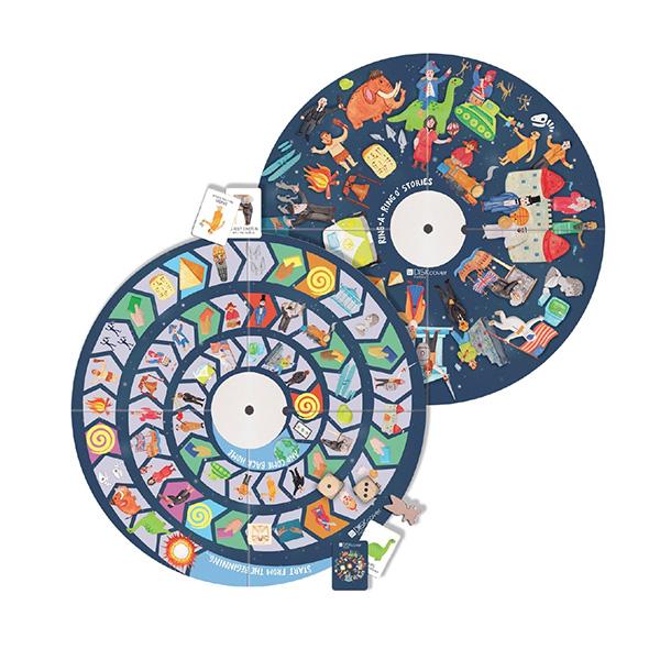 MUtable益智桌遊板-歷史(附拼圖) 義大利MUtable,兒童成長家具,益智桌遊板