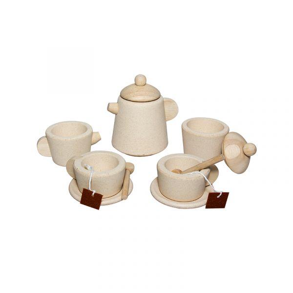 小主廚-英式茶具組 泰國,天然橡膠木,茶具組,小主廚